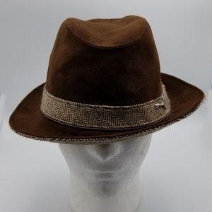 Puma fedora Style Brown hat Men size L/XL